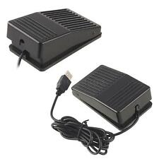 USB Game Foot Control Keyboard Action Switch Pedal HID Free Drive for Computer