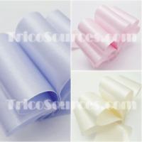 "Bridal Shower Craft Ribbon Satin Ribbon Double Faced 2""(50mm)x25YDS - B4007"