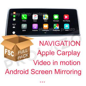 BMW FSC set for retrofit EVO ID6: CarPlay Navigation Screen mirroring USB /ENET