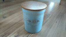Denby Stoneware Large Storage Jar Container Caddy Blue Reflections VGC