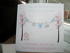 Handmade Personalised New Grandparents Card You're Going To Be Grandparents