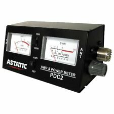 New Astatic 302 Pdc2 Swr Rf Field Strength Test Meter Free Shipping