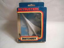 """1990 New MATCHBOX SKYBUSTERS """"CONCORDE SB-23 SUPERSONIC AIRLINER"""" Die Cast Plane"""