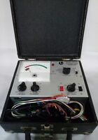 Lectrotech Picture Tube Analyzer CRT-100 Vintage in hard case