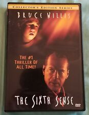 """The Sixth Sense"".Collectors Edition Widescreen, Bruce Willis, Pre Owned Dvd"