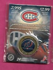 RARE 2009-10 MONTREAL CANADIENS  100TH YEAR  MEDALLION (INV# C1080 )