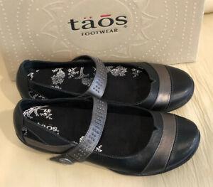 Taos Serenade Mary Jane  Black  - Choose Size