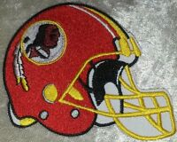 "Washington Redskins 3.5"" Helmet Iron On Embroidered Patch ~FREE Ship!"