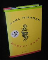 Carl Hiaasen:Basket Case Hbdj,1st Ed.,2002~Flatsigned by Hiaasen on Title Page