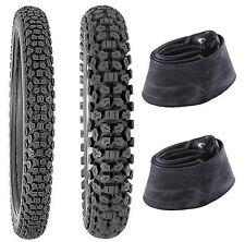 Kenda 2.75-21 & 4.10-18 K270 Tires & Tubes XL125S,XL185S,XL200R,KL250G,TS125/185