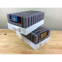 Super Nintendo Rare Video Game Display Tray Stand Game Holder for Super Nintendo