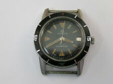 Vintage Helbros Diver Watch Automatic w/ Date 17 Jewels w/ Box