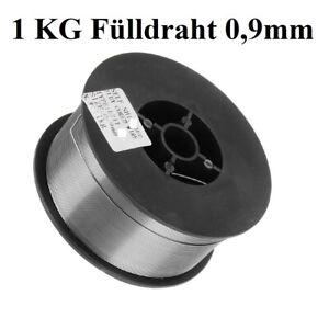 1KG Fülldraht 0,9mm E71T-GS  MIG/MAG - 1 Kg Schweißen ohne Gas - Flux Core