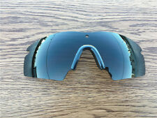 Black polarized Replacement Lenses for oakley M Frame 2.0/nose clip