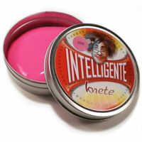Pâte Intelligente A Modeler Thinking Putty Couleurs Primaires Rose Multiplayer