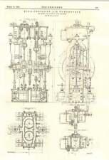 1894 ad alta pressione compressore d'aria elwell FILS Plain ST-Denis