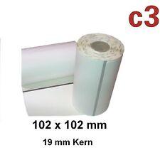 102x102mm ThermoEtiketten Zebra QLn420, QL420, QL 420Plus, P4T, RP4T / 3003071