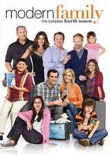 Modern Family: The Complete Fourth Season 4 Four (DVD 3-Disc Set) NEW FREE SHIP