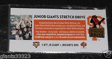 Willie McCovey  Pin SF Giants SGA Junior stetch Drive