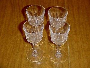 Cris D'Arques Durand Crystal Auteuil Cordial Glass Set