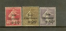 "FRANCE STAMP TIMBRE N°266/68 ""CAISSE AMORTISSEMENT 4ème SERIE 1930"" NEUFS xx SUP"