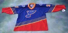 Vintage CCM NHL St. Louis Blues Grant Fuhr  #31 Jersey Size XL.