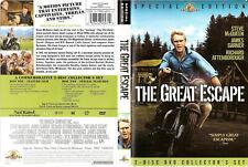 The Great Escape (Dvd, 2009, 2-Disc Set, Collectors Edition) Free Ship #0520Iz