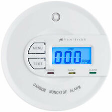 Gasmelder: Kohlenmonoxid-Melder mit 10-Jahres-Sensor & Display, 85 dB, EN 50291