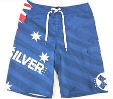 Quicksilver mens board shorts size 32 British flag - Great condition