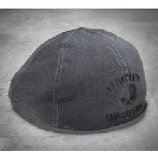Harley-Davidson Men's Grey Ivy  Skull Cap size large