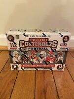 2020 PANINI CONTENDERS NFL FOOTBALL MEGA BOX 112 Cards New Factory Sealed