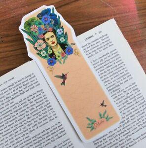 Frida Kahlo Artist Bohemian Bookmark By Illustration Artist Msdre