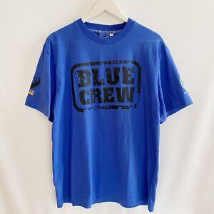Western Force Blue Crew Super Rugby T-Shirt Mens Medium