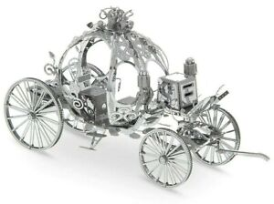 Disney Parks Princess Cinderella Carriage Metal Earth 3D Model Kit Exclusive NEW