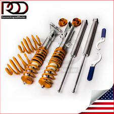 Adjustable Suspension Coilover Kit fit BMW E36 Cabrio / Coupe Coilover Shock kit