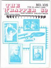 THE WRAPPER #105 - 1992 Non-sports card fanzine - STAR TREK cards article
