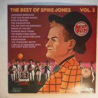 BEST OF SPIKE JONES, VOL. 2 – SEALED 12 INCH 33 RPM VINYL ALBUM - RCA AYL1-3870