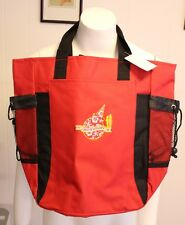 Jack In the Box Tote Bag Backpack Canvas Red Circle of Excellence