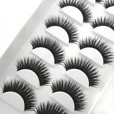 NEW EXM37 6 Pairs Black+BROW Fashion HANDMADE False eyelashes Party eye lashes