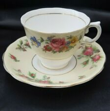 Colclough  Roses Tea Cup & Saucer