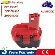 Battery For Bosch 12V Drill 2Ah Ni-CD Exact 8 GSR 12 PSR 12 PSB 12 BAT046 BAT049