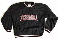 Team Edition Apparel Nebraska Cornhuskers 1/4 Zip Pullover Size XL Men's EUC