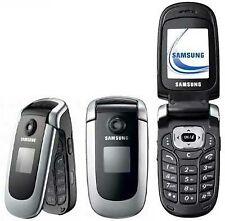 Samsung SGH X660 - Silver (Unlocked) Flip Mobile Phone