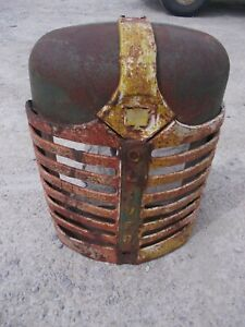 Oliver 88 Tractor ORIGINAL front nose cone grill radiator cover w/ emblem