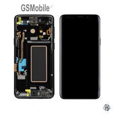 Display Pantalla LCD Touch Schermo Marco Samsung Galaxy S9 G960F Negro Original