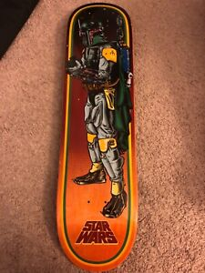 Star Wars Santa Cruz Boba Fett Skateboard Deck New 🔥🔥🔥🔥🔥