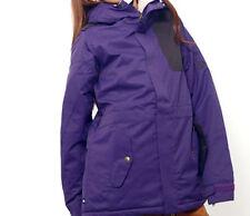 686 Women 4eva-after Snowboard Jacket (S) Violet Diamond Dobby