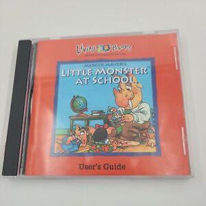 vintage CD - Living Books - Little Monster at School - CD 1994