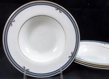Royal Doulton CORDELIERE 4 Rim Soup Bowls H5218 GREAT CONDITION