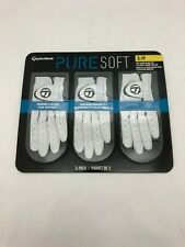 TaylorMade Pure Soft Golfing Gloves: 3 Pack Size Small EF22